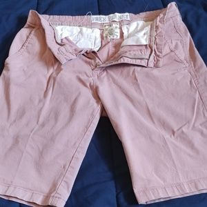 Free planet blush colored shorts
